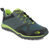 The North Face M's Ultra Fastpack II GTX Shoes Duck Green/Lime Green